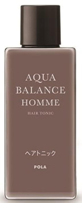 山積みの神秘的なうめき声AQUA POLA アクアバランス オム(AQUA BALANCE HOMME) ヘアトニック 養毛料 1L 業務用サイズ 詰替え 200mlボトルx1本