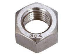 TRUSCO(トラスコ) 六角ナット1種 ステンレス サイズM8×1.25 45個入 B25-0008