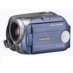 JVCケンウッド ビクター ハードディスクビデオカメラ Everio HDD20GB ミスティーブルー GZ-MG47-A