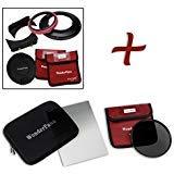 WonderPana FreeArc Essential ND 0.6heキット–コアフィルタホルダー、レンズキャップ、66ブラケット、0.6ハードエッジGrad ND & 145mm nd16フィルタfor Sony FE 12–24mm f / 4G・Eマウントレンズ