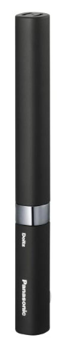 記念輝度方向パナソニック 電動歯ブラシ ポケットドルツ 黒 EW-DS18-K