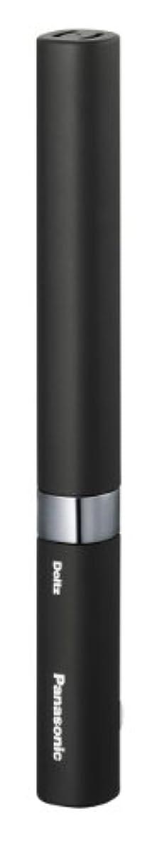 お風呂を持っているスキーム自然パナソニック 電動歯ブラシ ポケットドルツ 黒 EW-DS18-K