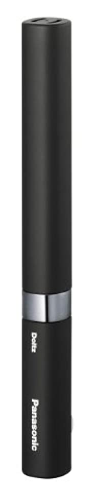 趣味前売バックアップパナソニック 電動歯ブラシ ポケットドルツ 黒 EW-DS18-K