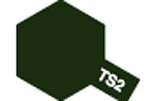タミヤ スプレー No.02 TS-2 ダークグリーン 85002