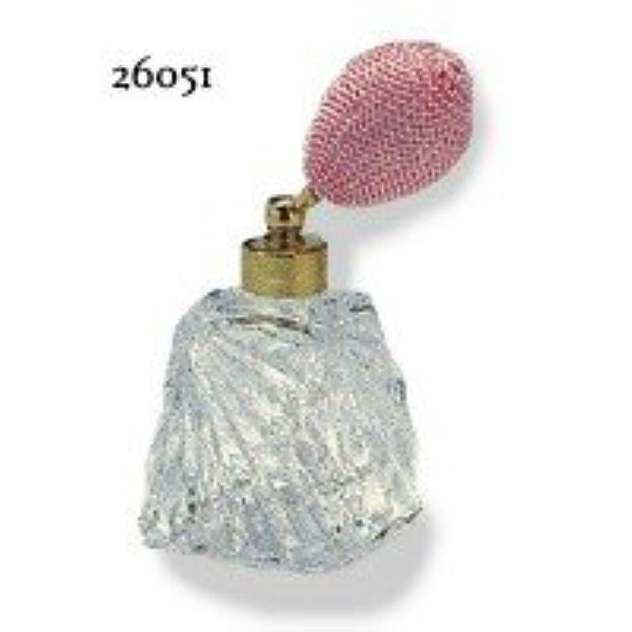 落ち着かないぬるい希少性ドイツ製クリスタル香水瓶リードクリスタル 短