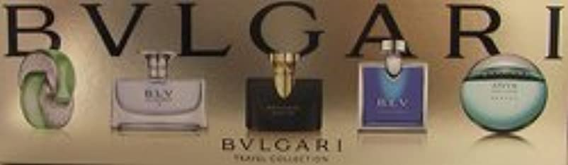 通り抜けるインレイ野生ブルガリ トラベル コレクション ウーマンズ & メンズ ミニチュアコレクション