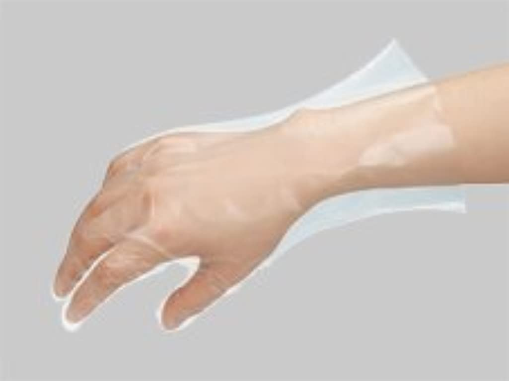 実質的にバング到着するポリエチ手袋No823 L 100枚入