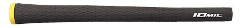 グリップ イオミック Sticky 1.8 シリーズ (プロパータイプ)グリップ スタンダード (ブラック×レモンイエロー, 口径60 バックライン無)