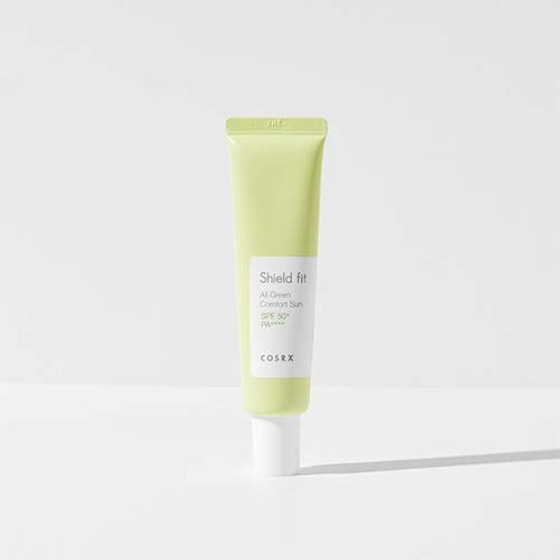 スラダムタバコ追放するCOSRX シールド フィット オール グリーン コンフォート サン(無機系)/Shield fit All Green Comfort Sun (35ml) [並行輸入品]
