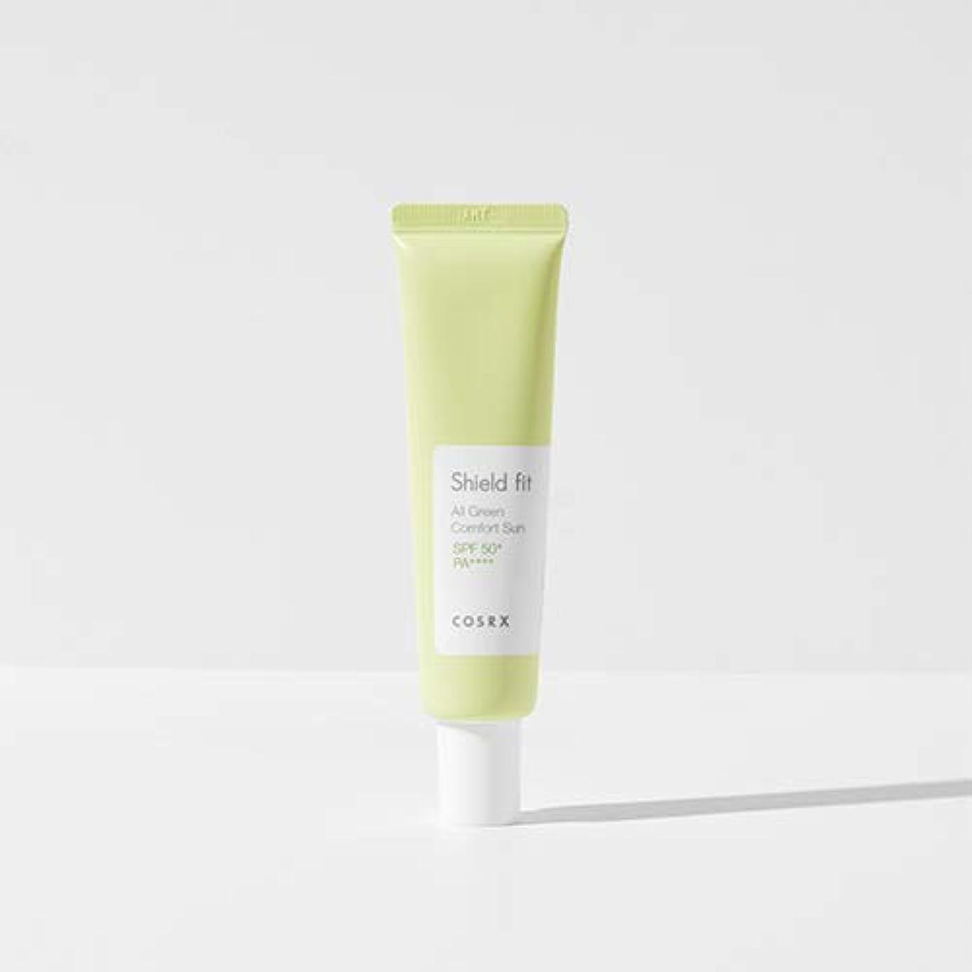 挑む相関する世界的にCOSRX シールド フィット オール グリーン コンフォート サン(無機系)/Shield fit All Green Comfort Sun (35ml) [並行輸入品]