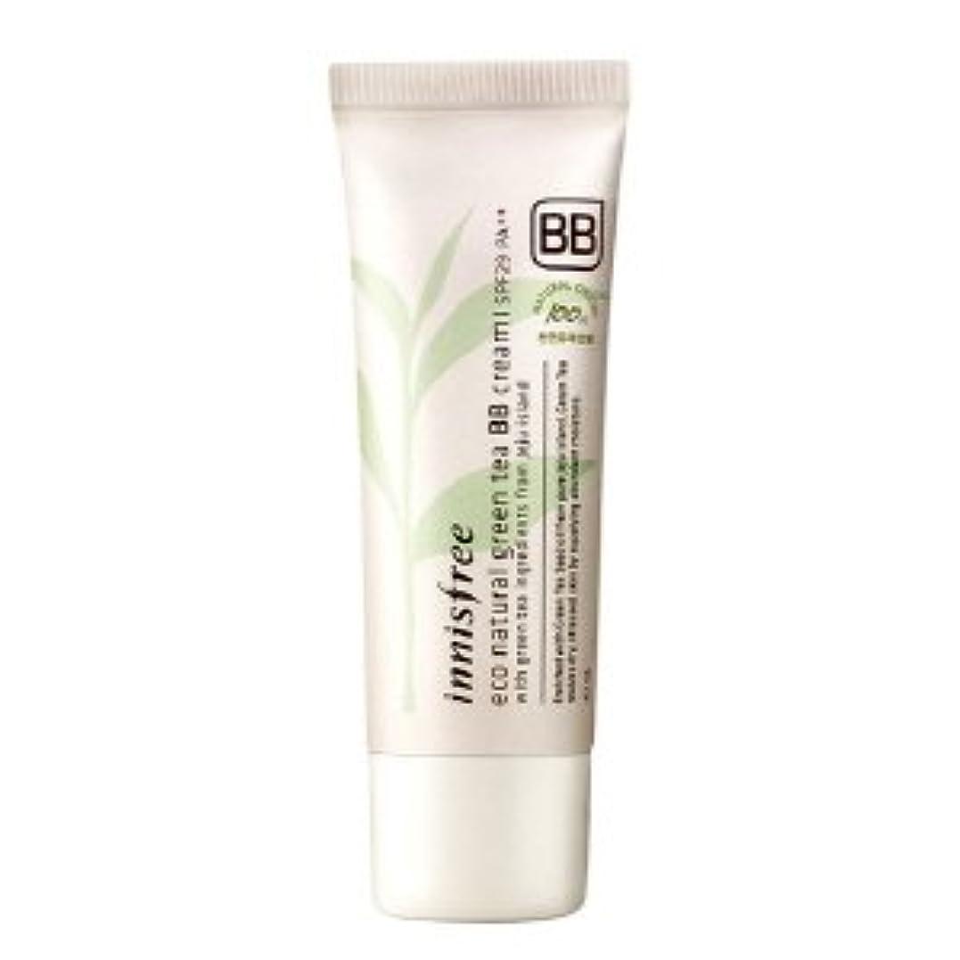 クライアント所属別々にinnisfree/イニスフリー Eco Natural Green Tea BB Cream #01 /エコナチュラルグリーンティーBBクリーム 華やかなしっとり肌 SPF29PA++40ml