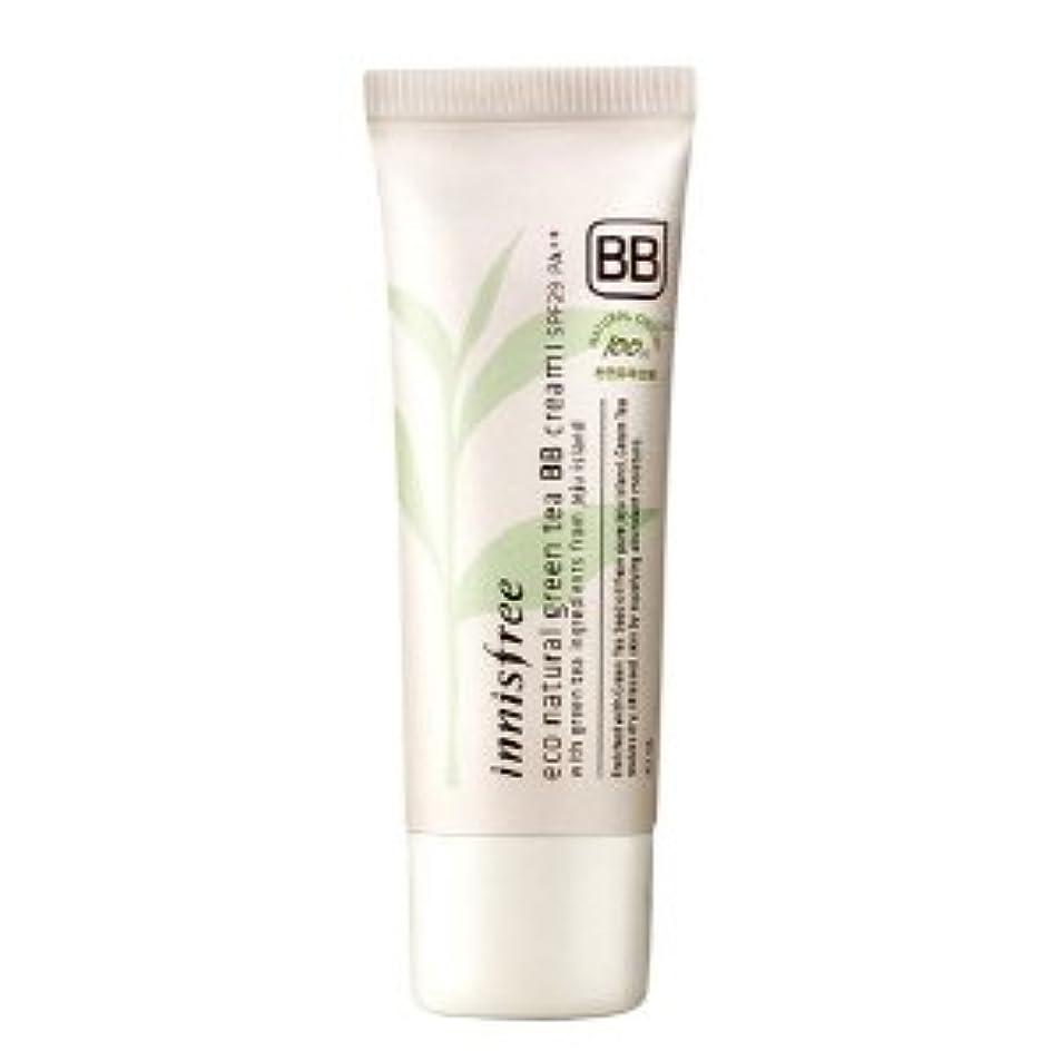 シール嘆くデモンストレーションinnisfree/イニスフリー Eco Natural Green Tea BB Cream #01 /エコナチュラルグリーンティーBBクリーム 華やかなしっとり肌 SPF29PA++40ml