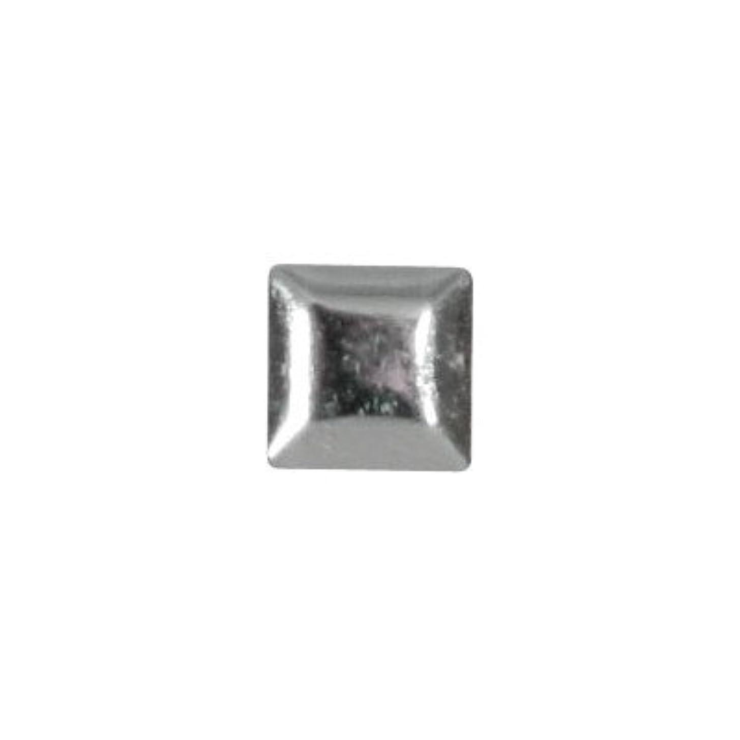 簡単なミュウミュウ解釈するピアドラ スタッズ メタルスクエア 3mm 50P シルバー