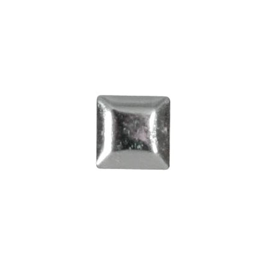ジェスチャー圧縮する先のことを考えるピアドラ スタッズ メタルスクエア 3mm 50P シルバー