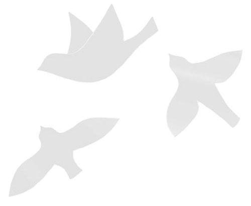 RoomClip商品情報 - umbra ウォールデコレーション WALL BIRD WALL DECOR(ウォールバード 3P) ホワイト2470105‐660