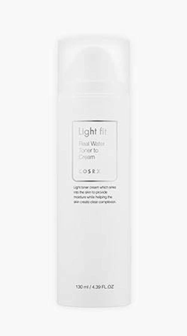 [COSRX] Light fit Real Water Toner To Cream 130ml [並行輸入品]