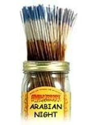 Arabian Night - 100 Wildberry Incense Sticks [並行輸入品]