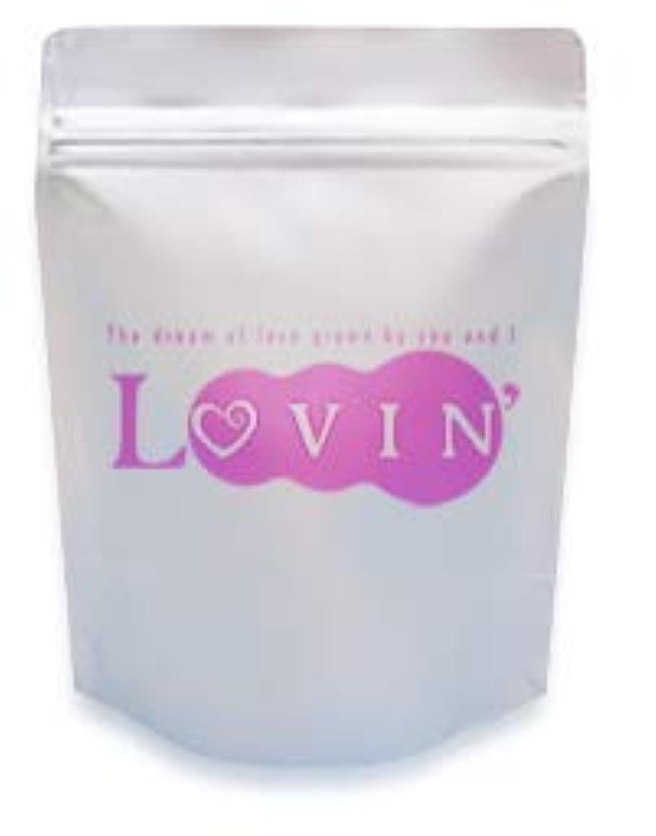 ここにここに自分を引き上げる【ローション風呂】LOVIN (ラヴィン) バスローション 2kg 【コラーゲン?コエンザイムQ10配合】ローズの香り 業務用