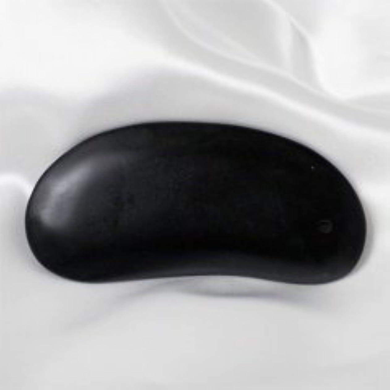 平行イディオムなに天然ベン石(泗濱浮石 しふんせき) カッサ、マッサージプレート
