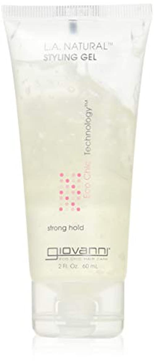 それに応じてスリラー石鹸giovanni(ジョバンニ) mini L.A. ナチュラル ヘアスタイリングジェル  60ml