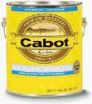Cabot Stains 1601 Oil Decking Stain Alkyd Base Solid with Low VOC, 1 gallon, Satin White by Cabot Stains