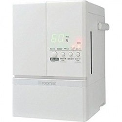 RoomClip商品情報 - 三菱重工 roomist スチームファン蒸発式加湿器 ピュアホワイト SHE60ND-W