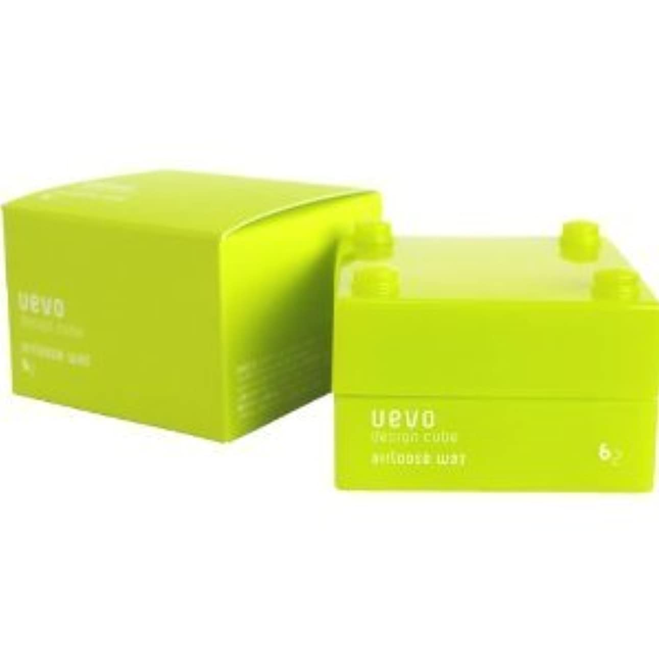盆地する最高【X3個セット】 デミ ウェーボ デザインキューブ エアルーズワックス 30g airloose wax DEMI uevo design cube
