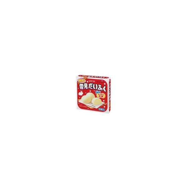 ロッテ ミニ雪見だいふく 27ml×9個×8袋の商品画像