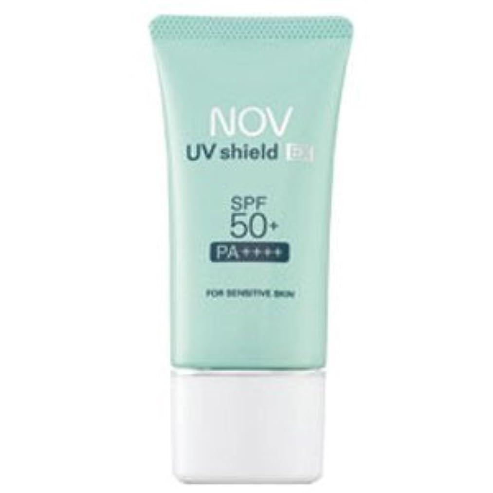 しみガラス確認してくださいノブ NOV UVシールドEX SPF50+ PA++++ 30g