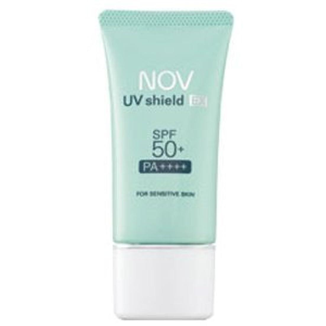 力強い逆適合するノブ NOV UVシールドEX SPF50+ PA++++ 30g