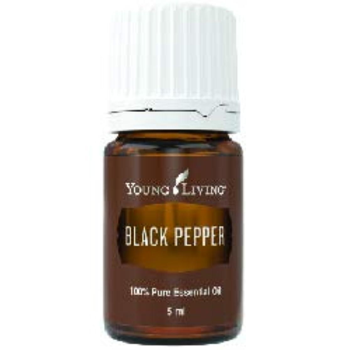 タヒチ逸脱エッセイブラックペッパーエッセンシャルオイル 5 ml byヤングリビングエッセンシャルオイルマレーシア Black Pepper Essential Oil 5 ml by Young Living Essential Oil...