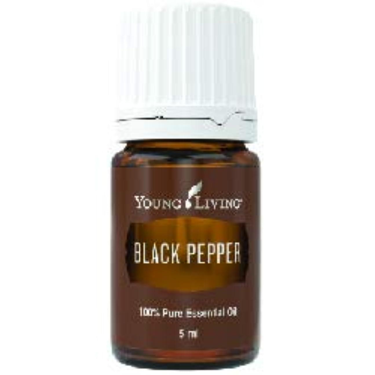 経済犯す優れたブラックペッパーエッセンシャルオイル 5 ml byヤングリビングエッセンシャルオイルマレーシア Black Pepper Essential Oil 5 ml by Young Living Essential Oil...