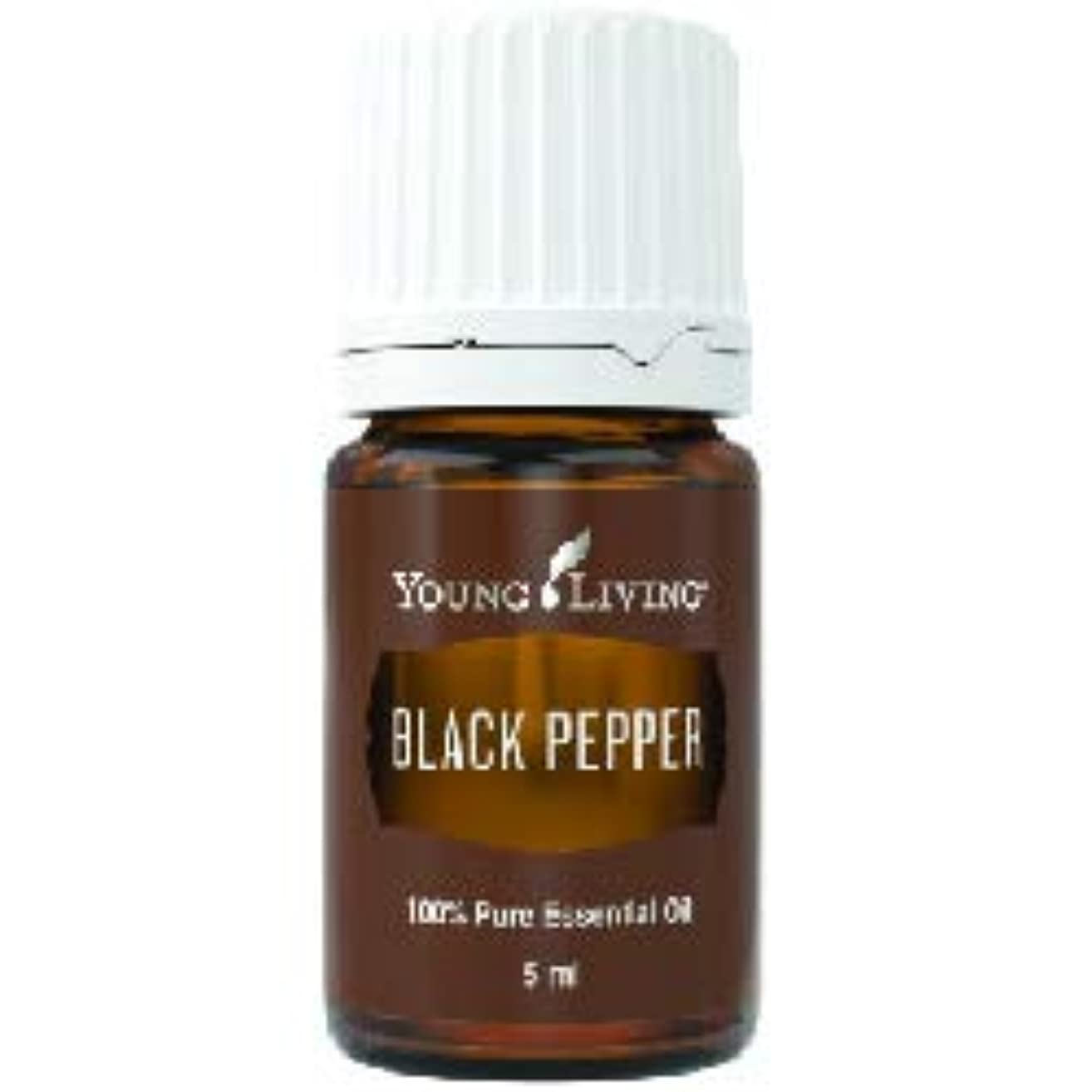 協力する無意識悪のブラックペッパーエッセンシャルオイル 5 ml byヤングリビングエッセンシャルオイルマレーシア Black Pepper Essential Oil 5 ml by Young Living Essential Oil...