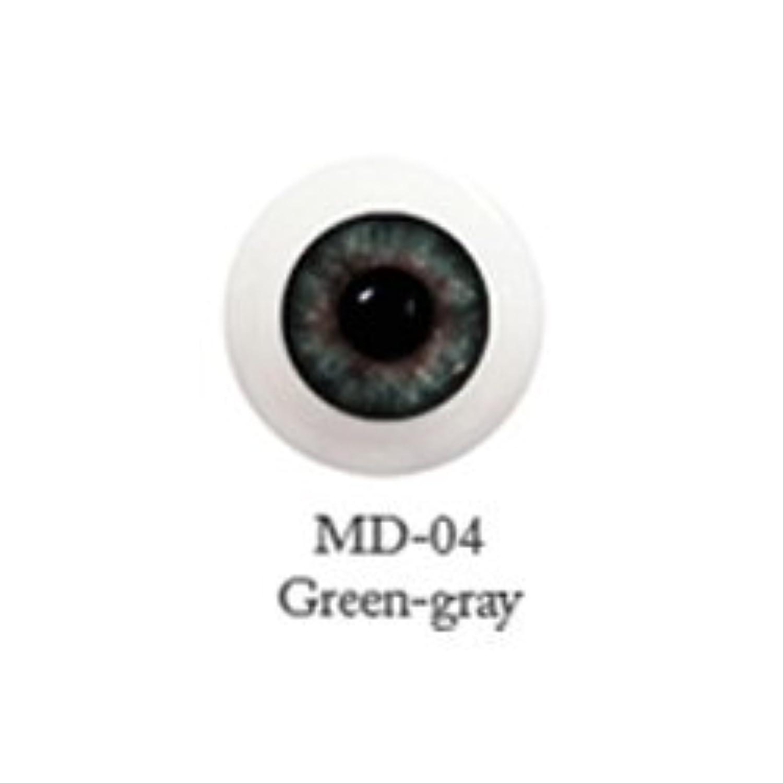 ドール用アクリルアイ ミスティックアイ 18mm 【MD-04グリーングレー】(並行輸入品)