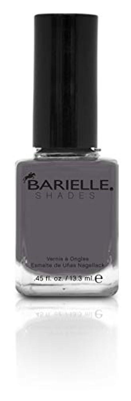 不変整理する格差BARIELLE バリエル ワン シェイド グレー 13.3ml One Shade Of Gray 5258 New York 【正規輸入店】