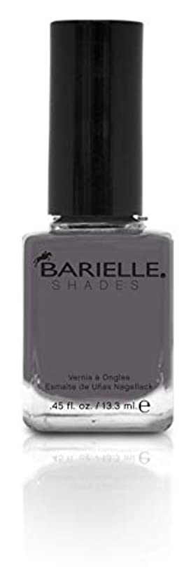 任意うん消化器BARIELLE バリエル ワン シェイド グレー 13.3ml One Shade Of Gray 5258 New York 【正規輸入店】