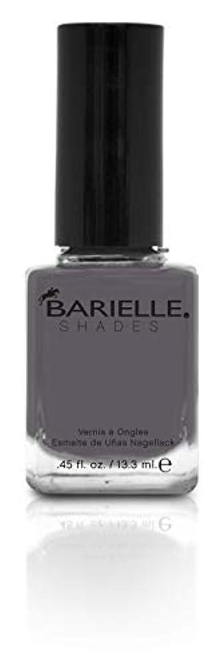 想像するどきどき留め金BARIELLE バリエル ワン シェイド グレー 13.3ml One Shade Of Gray 5258 New York 【正規輸入店】