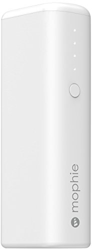 mophie power boost mini v2 (2600mAh 軽量コンパクト モバイルバッテリー) 最大1A出力 iPhoneAndroid対応  (ホワイト 白) 正規代理店品 MOP-BY-000154