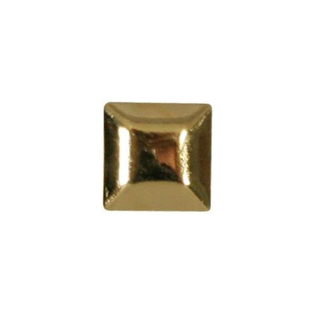 傾斜簡略化する提供されたピアドラ スタッズ メタルスクエア 4mm 30P ゴールド