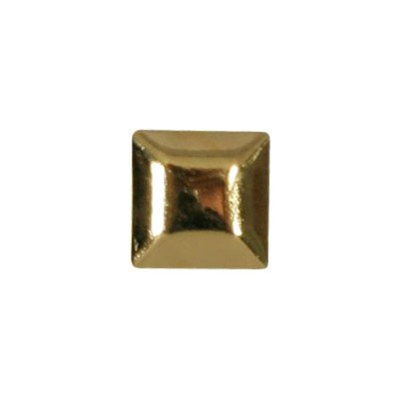 帰するメモアライメントピアドラ スタッズ メタルスクエア 4mm 30P ゴールド