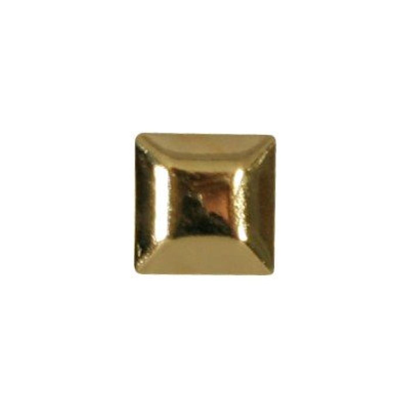 フライカイトフェデレーション凍結ピアドラ スタッズ メタルスクエア 4mm 30P ゴールド