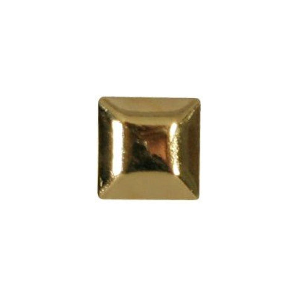 宗教的なブランド名表面ピアドラ スタッズ メタルスクエア 4mm 30P ゴールド