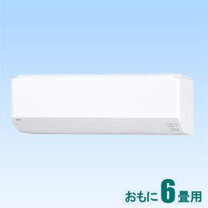 富士通ゼネラル 【エアコン】nocria ノクリアおもに6畳用 (冷房:6~9畳/暖房:6~7畳) Cシリーズ AS-C22J-W