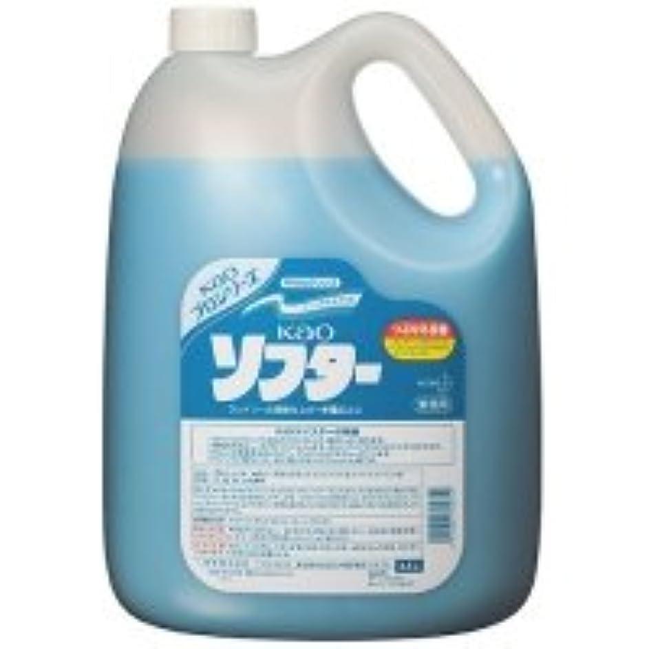 甘い受ける珍味花王 ソフター 業務用 4.5L 1本