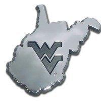 West Virginia University (WV Shape) Emblem