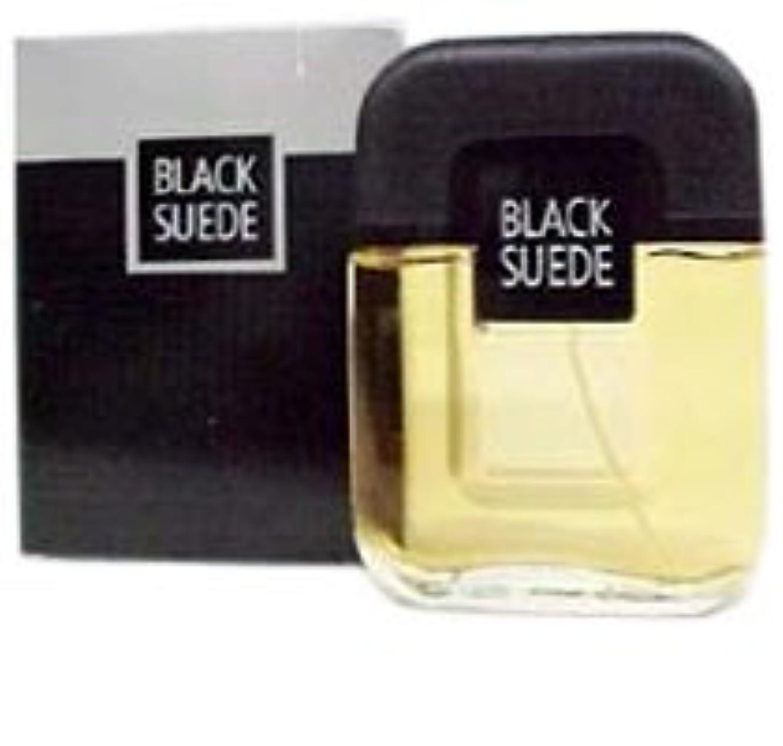 加速度混乱した姿を消すBlack Suede (ブラックスエード) 0.5 oz (15ml) EDT Splash by Avon for Men