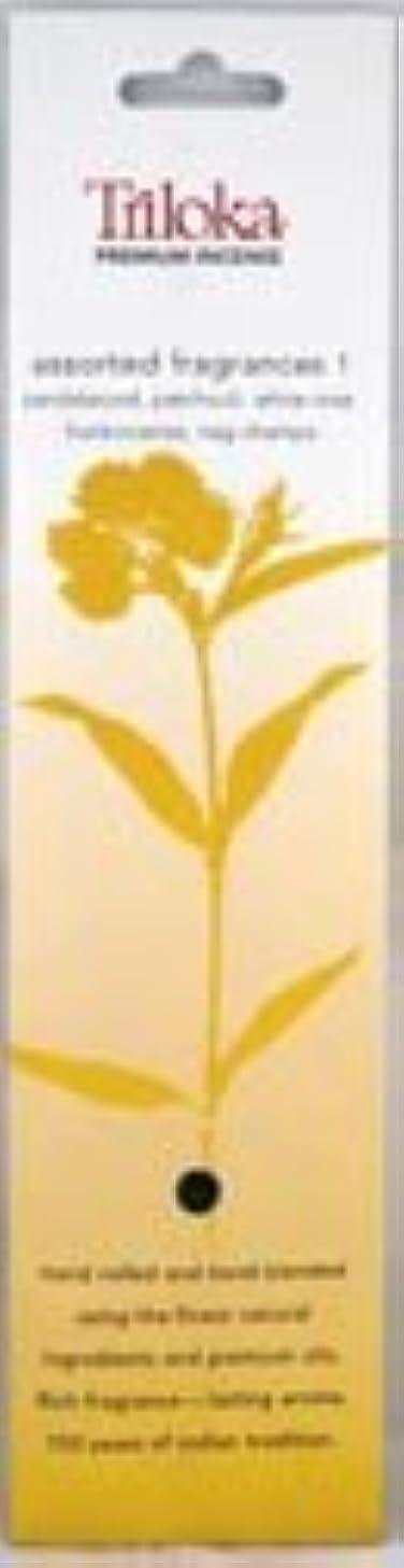 ケーブルカー振動させる速いTrilokaプレミアムアロマセラピーIncense – Assorted Fragrancesグループ1