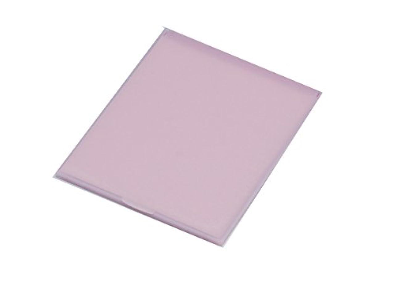 ムスタチオ私明らかに堀内鏡工業 スリム&ライト パステルカラー コンパクトミラー M ピンク