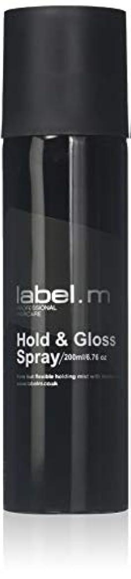 動詞誇りマントルLabel.M Professional Haircare 200MLホールド&グロススプレーLabel.M