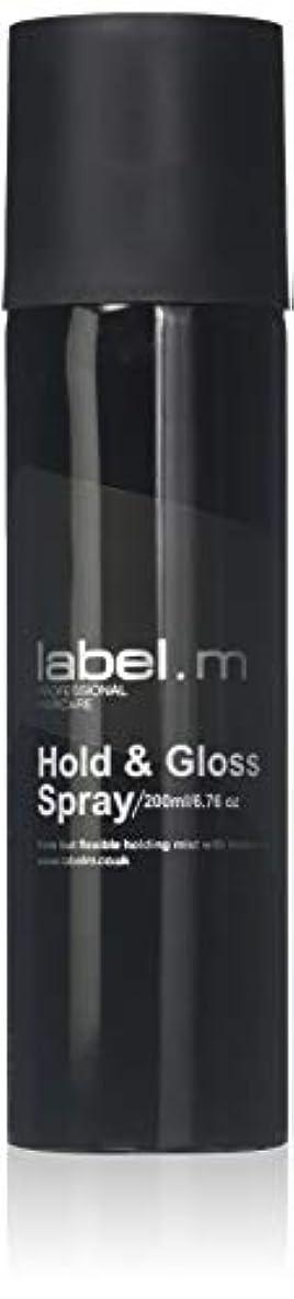 Label.M Professional Haircare 200MLホールド&グロススプレーLabel.M